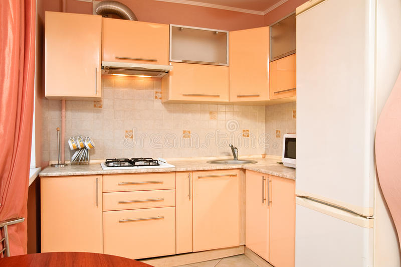 Intérieur de cuisine photo libre de droits