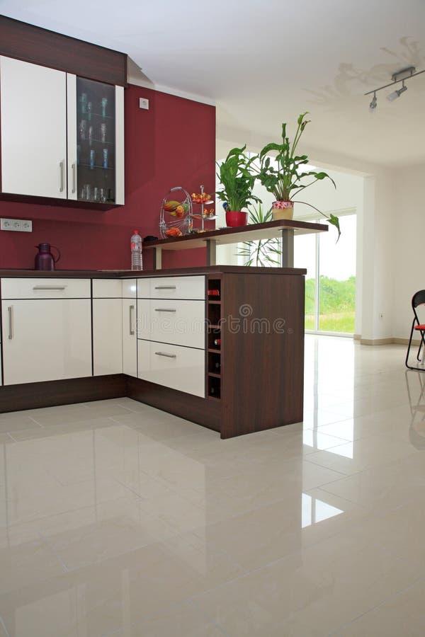 Intérieur de cuisine. photos stock