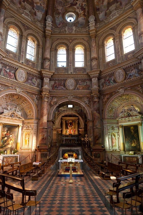Intérieur de della Croce Santa Maria images libres de droits