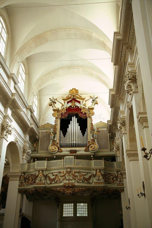 intérieur de dubrovnik de cathédrale photo libre de droits
