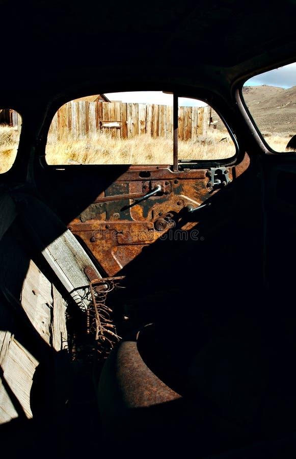 Intérieur de Jalopy photographie stock