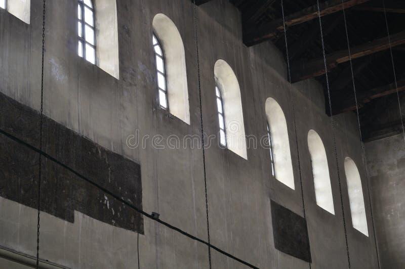 Intérieur de l'église de la nativité photos libres de droits
