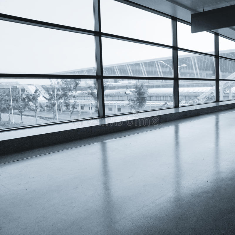 Intérieur de la construction moderne photo stock