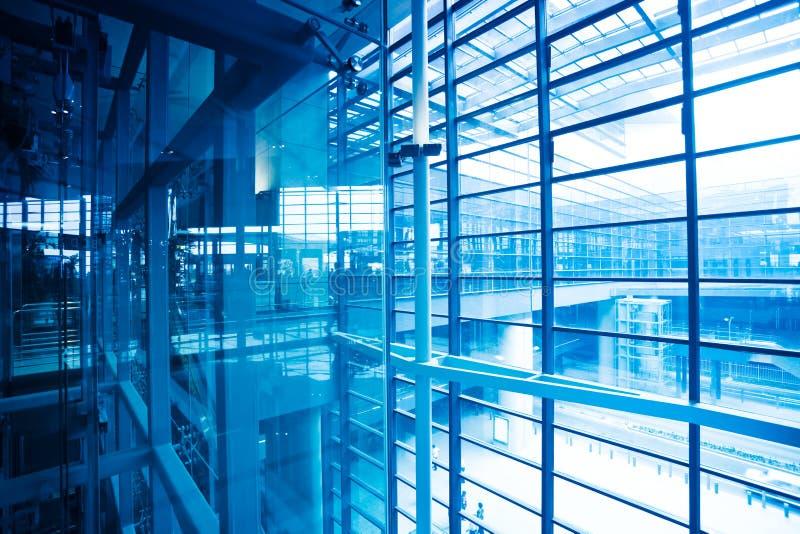 Intérieur de la construction moderne photographie stock