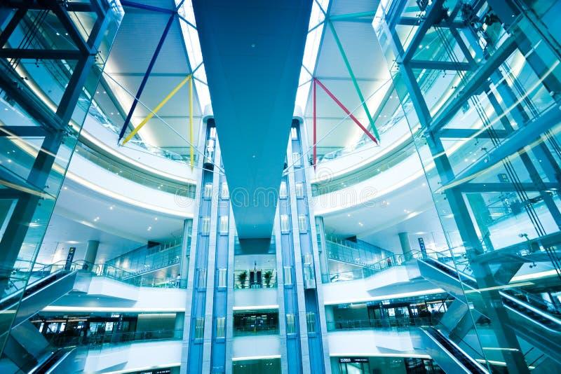 Intérieur de la construction moderne photo libre de droits