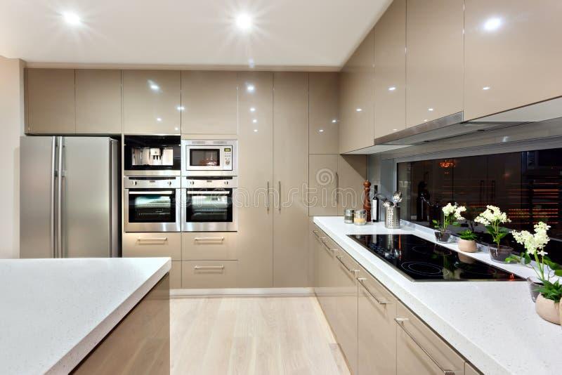 Favoris Intérieur De La Cuisine Moderne Dans Une Maison De Luxe Image  YQ57