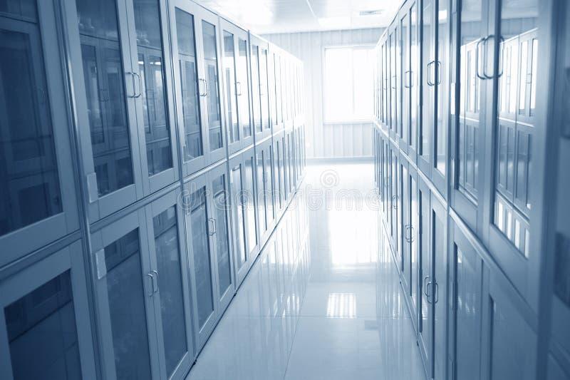 Intérieur de laboratoire photographie stock