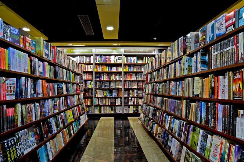 Intérieur de librairie images libres de droits