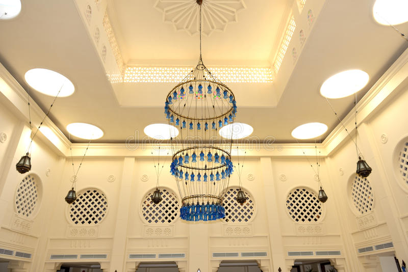 Intérieur de lobby dans l'hôtel de luxe photo stock
