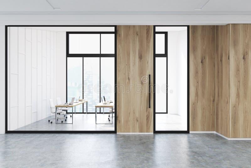 Download Intérieur De Lobby Moderne De Bureau, Verre Illustration Stock - Illustration du société, personne: 87700102