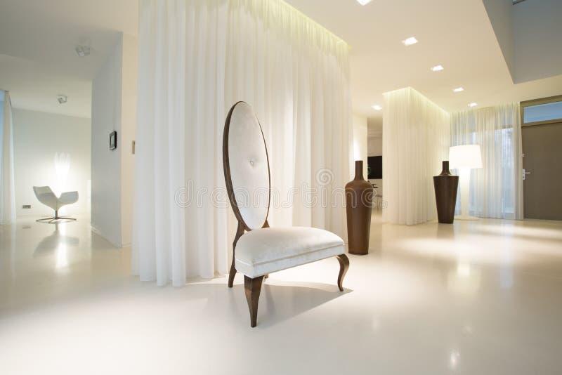 Intérieur de luxe blanc photo libre de droits