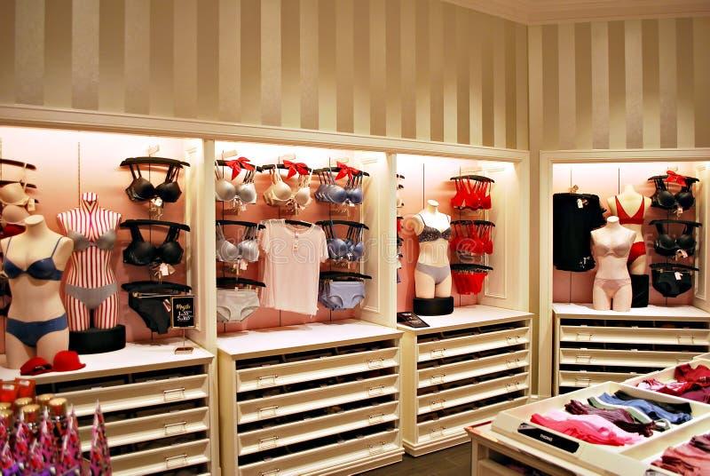 Intérieur de magasin secret du ` s de Victoria photo stock