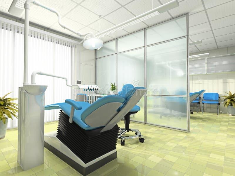 Intérieur de module stomatologic illustration de vecteur