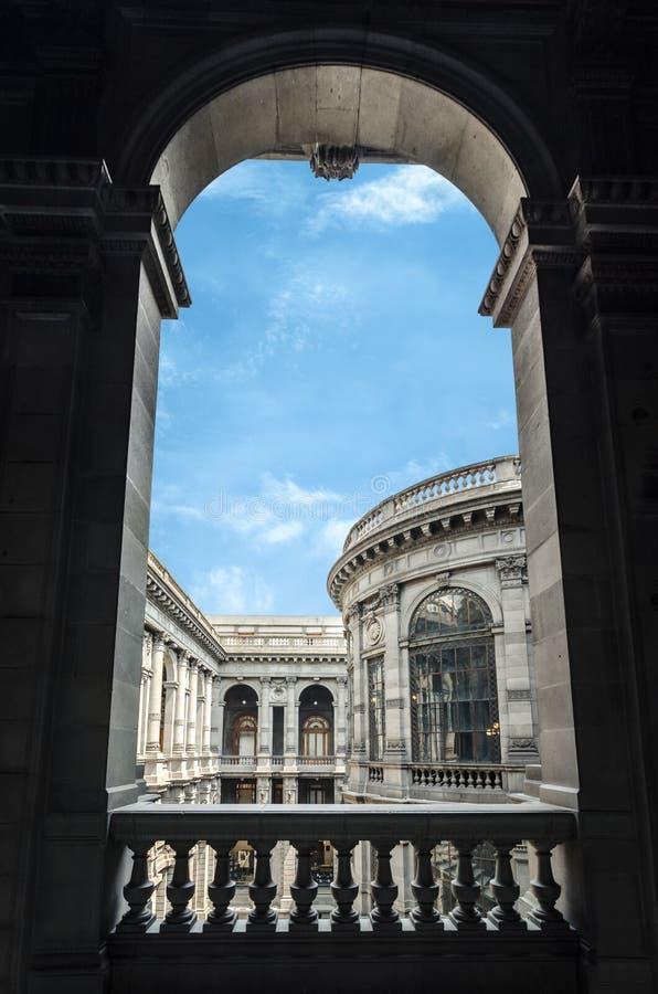 Intérieur de Museo Nacional de Arte MUNAL à Mexico image stock
