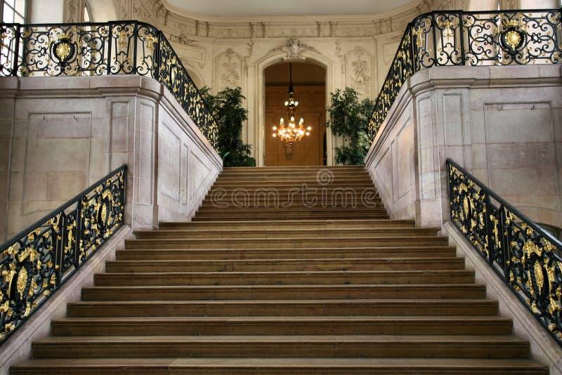 Intérieur de palais photos stock