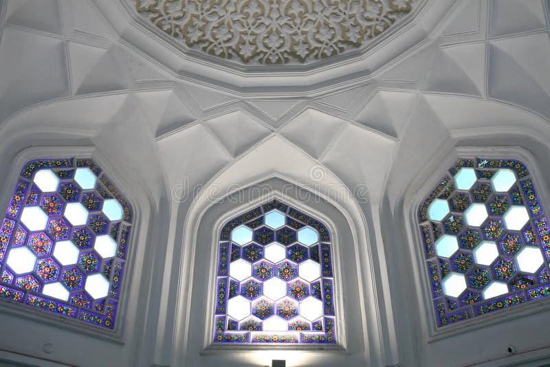 Download Intérieur de palais arabe photo stock. Image du islam - 45351766