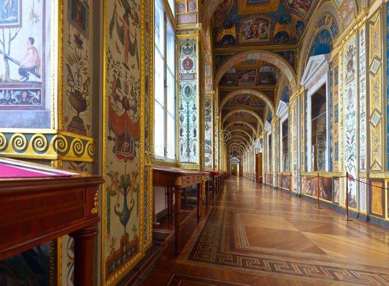 Intérieur de palais d'hiver. St Petersbourg photo libre de droits