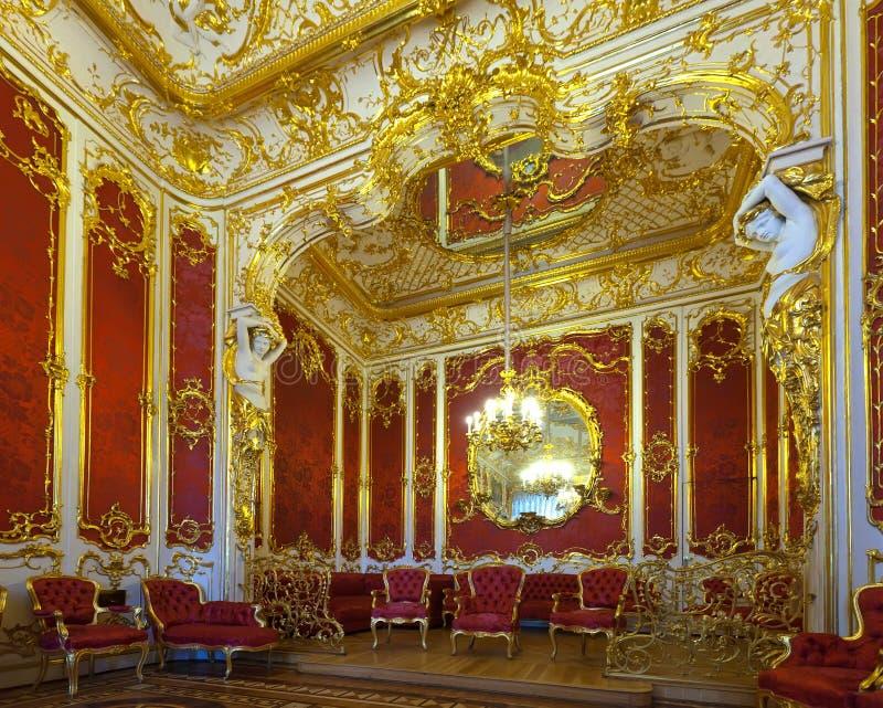 Intérieur de palais de l'hiver. St Petersbourg photographie stock libre de droits