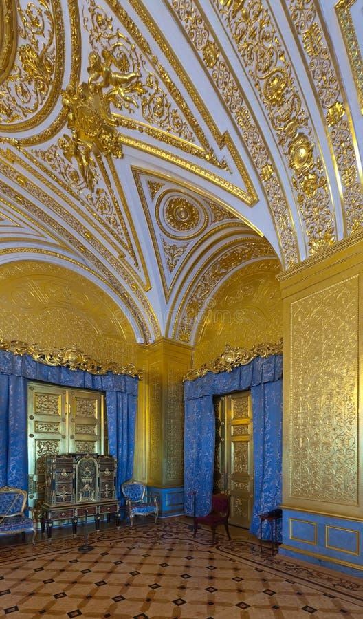 Intérieur de palais de l'hiver. St Petersburg photographie stock libre de droits