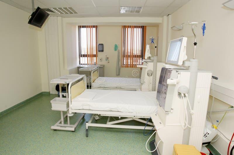 Intérieur de pièce d'hôpital photos libres de droits