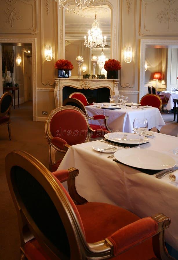 Intérieur de restaurant photo stock