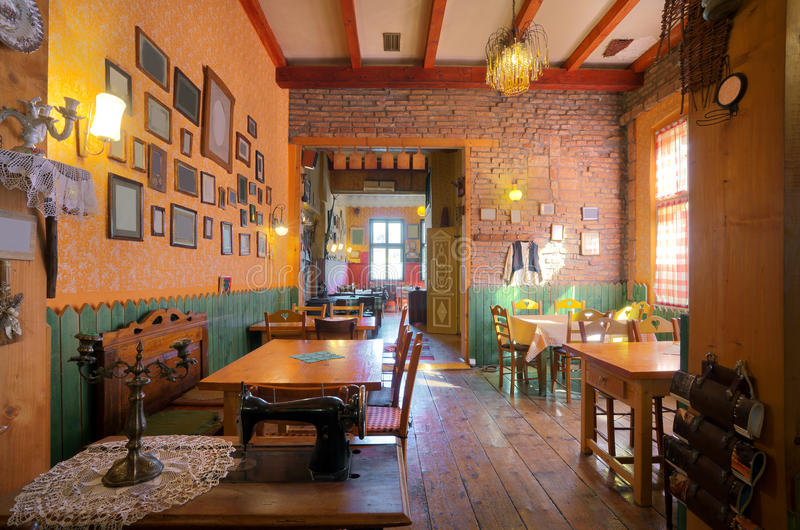 Intérieur de taverne photos libres de droits