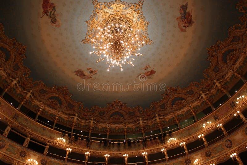 Download Intérieur De Théâtre De Fenice De La, Lustre Photographie éditorial - Image du phoenix, inside: 45354167
