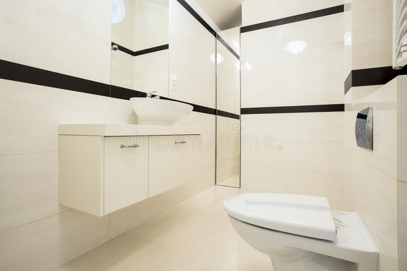 Intérieur de toilette photos libres de droits