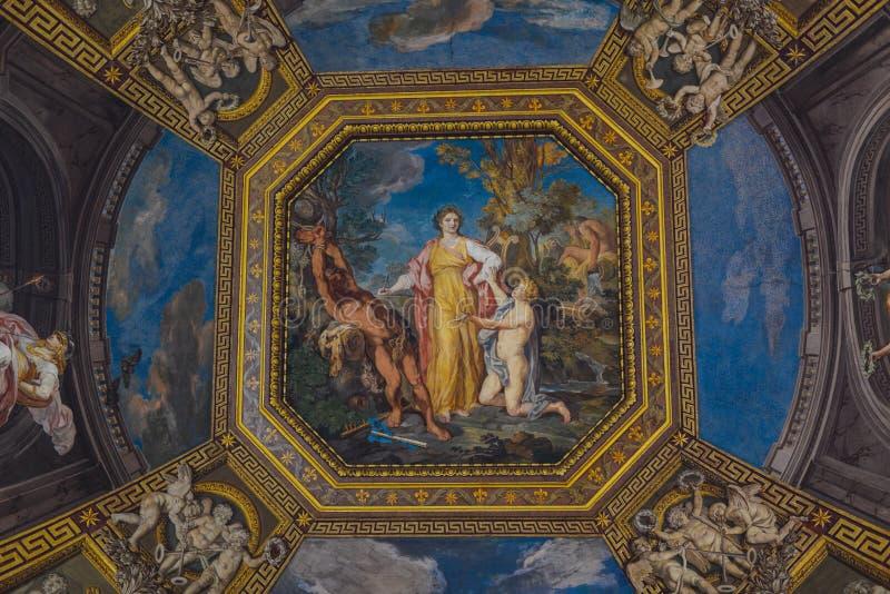 Intérieur de Ville du Vatican photos stock