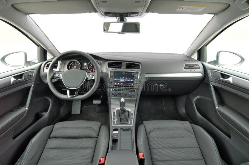 Intérieur de voiture photographie stock