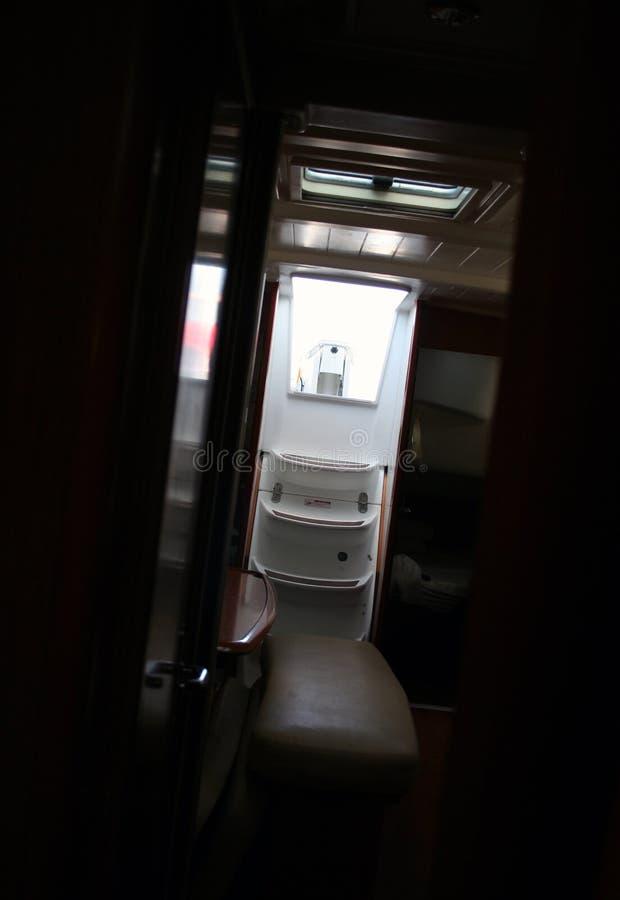 Intérieur de yacht images stock