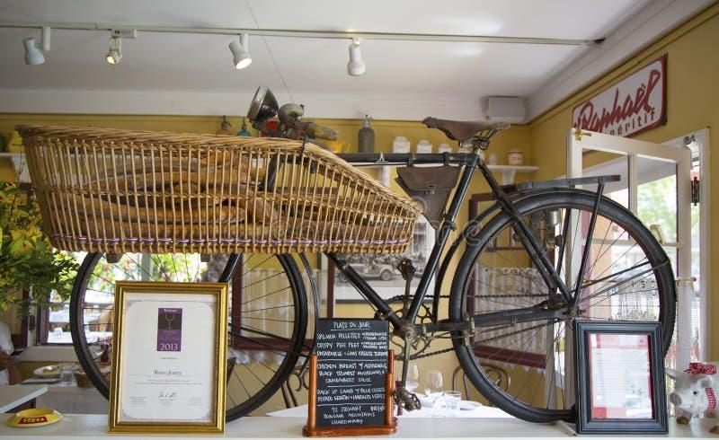 Intérieur des Bistros de gain Jeanty de restaurant de récompense dans Yountville, Napa Valley photo stock