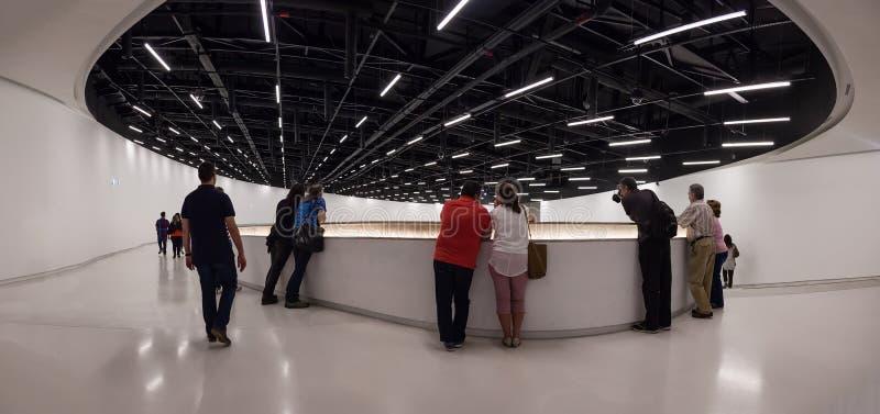 Intérieur du MAAT - Musée d'Art, architecture et technologie photos libres de droits