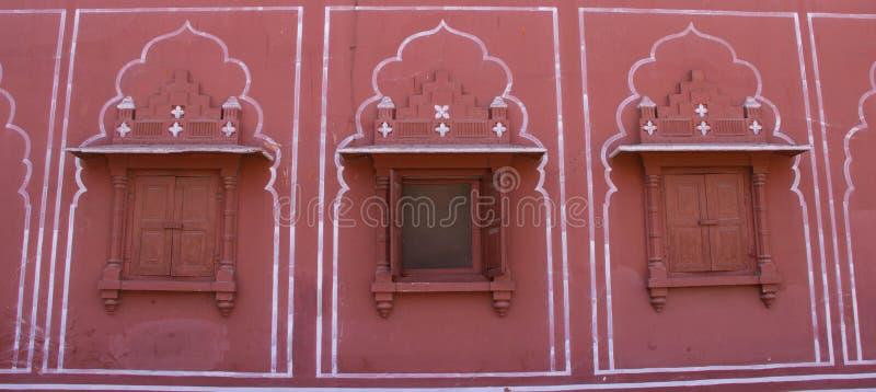 Intérieur du palais Jaipur, Inde de ville photographie stock