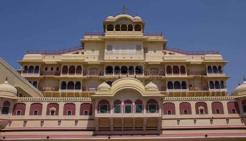 Intérieur du palais Jaipur, Inde de ville photo libre de droits