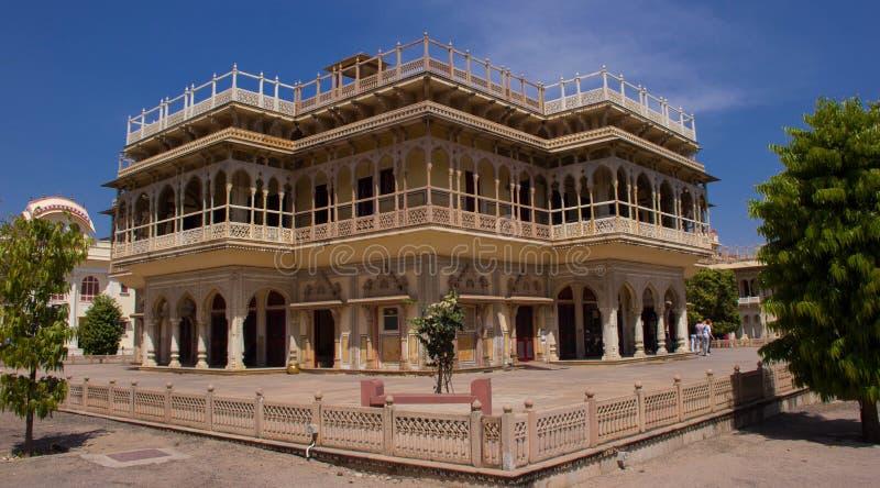 Intérieur du palais Jaipur, Inde de ville image libre de droits