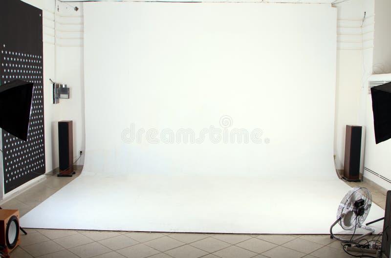 Intérieur du studio moderne de photo photographie stock libre de droits