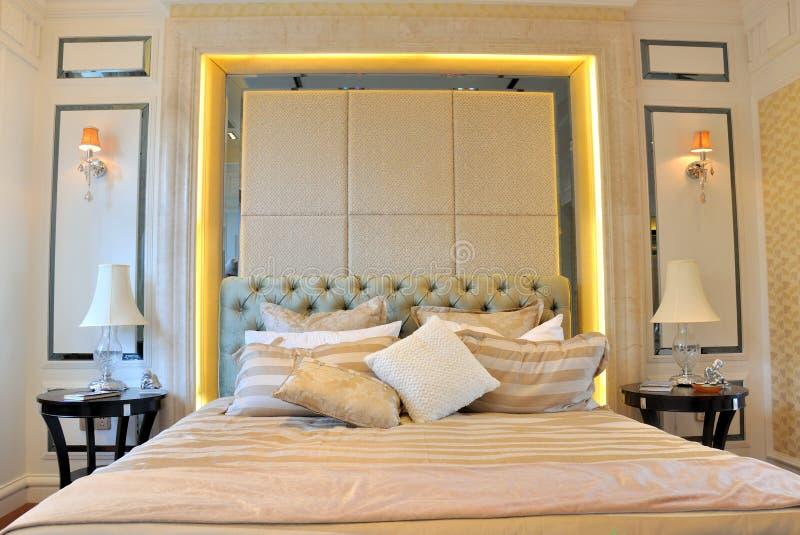 Intérieur et furnitrue de chambre à coucher image libre de droits