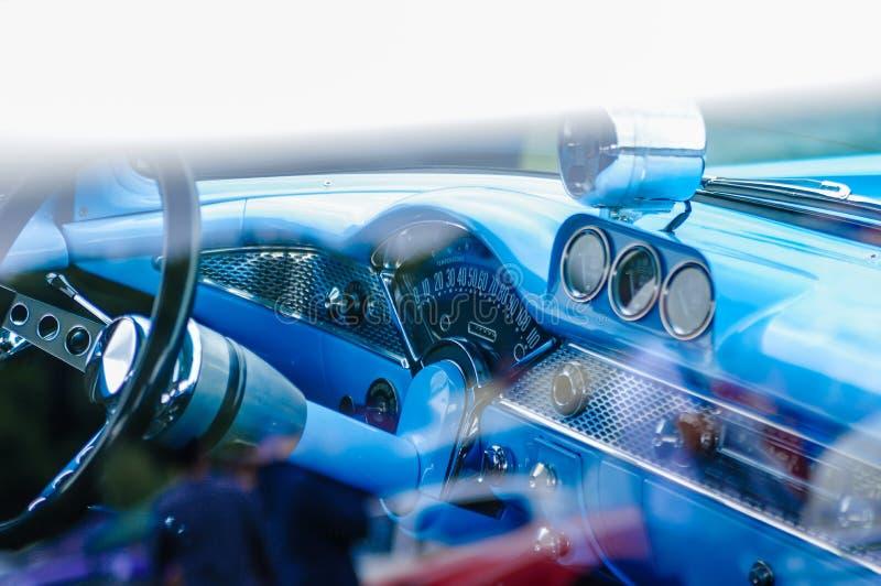 Intérieur fait sur commande de voiture photos stock