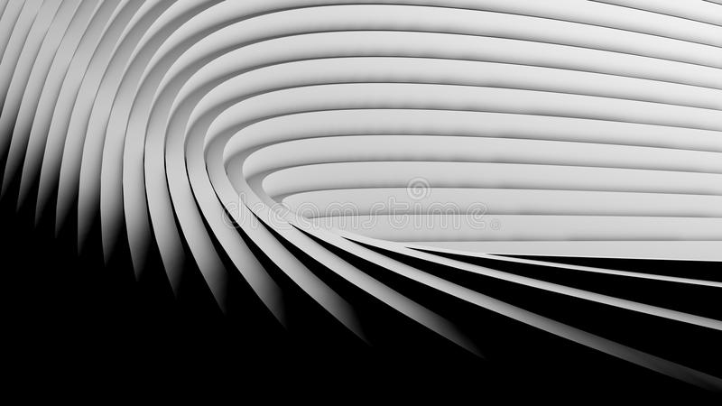 int rieur futuriste de fond moderne d 39 architecture illustration stock illustration du trappe. Black Bedroom Furniture Sets. Home Design Ideas