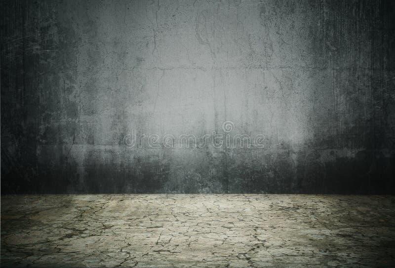 Intérieur grunge illustration de vecteur