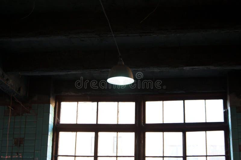 Intérieur industriel dans le bâtiment d'usine photographie stock libre de droits