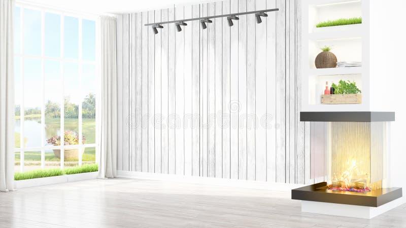 Download Intérieur Lumineux Moderne Rendu 3d Illustration Stock - Illustration du meubles, home: 87700066