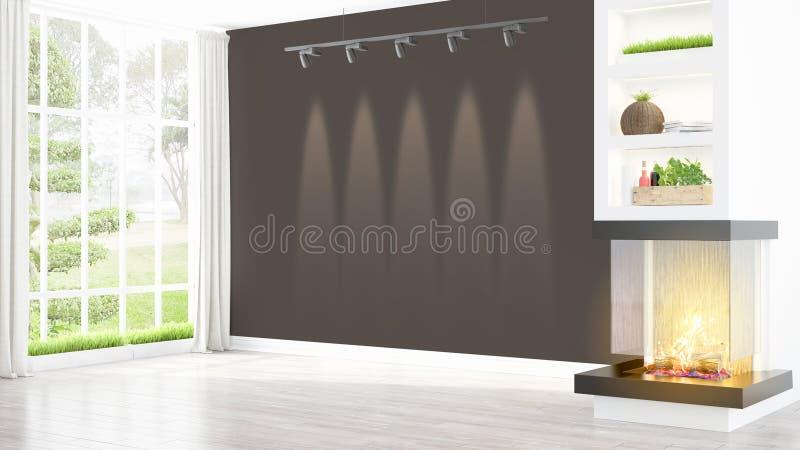 Download Intérieur Lumineux Moderne Rendu 3d Illustration Stock - Illustration du maison, meubles: 87700154