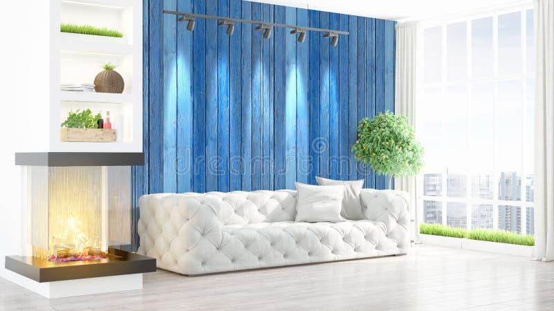 Download Intérieur Lumineux Moderne Rendu 3d Illustration Stock - Illustration du neuf, domestique: 87700226