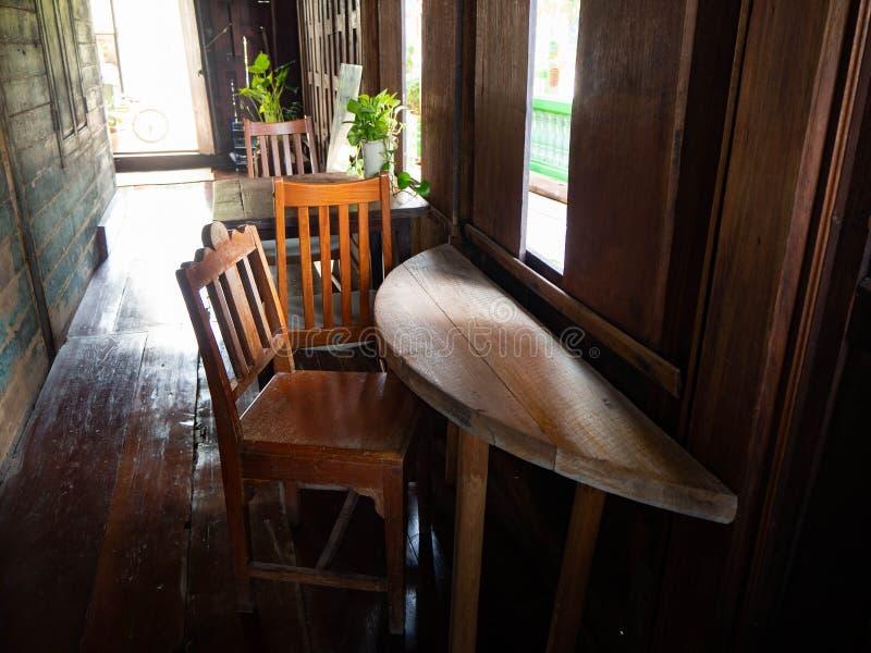 Intérieur, magasin de coffice de Chambre à Bangkok, Thaïlande photo libre de droits