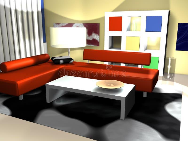 Intérieur Moderne Photo Stock
