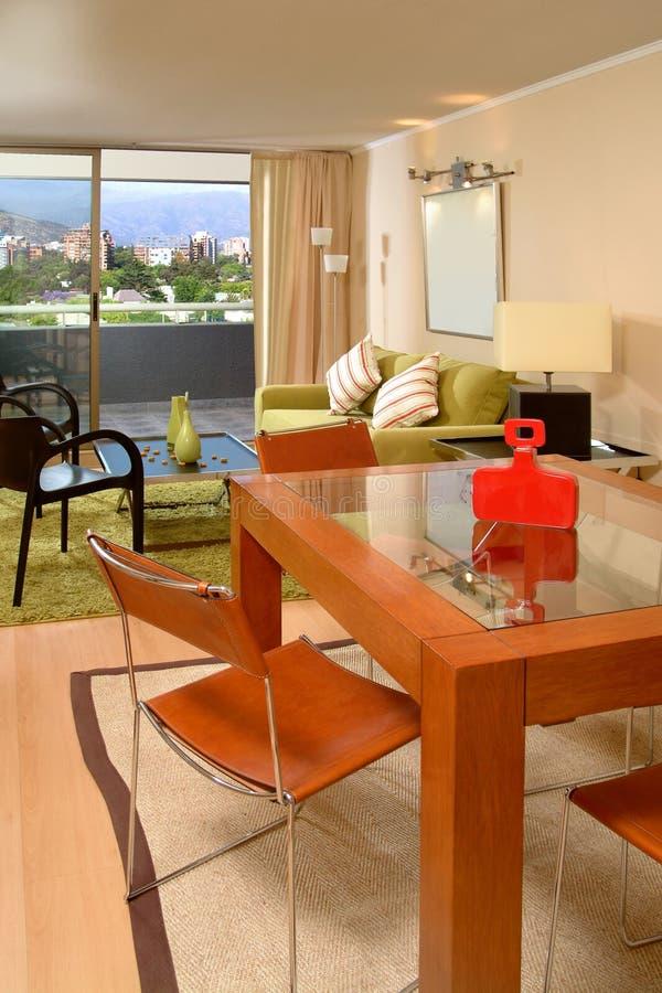 Intérieur moderne d'appartement photos libres de droits