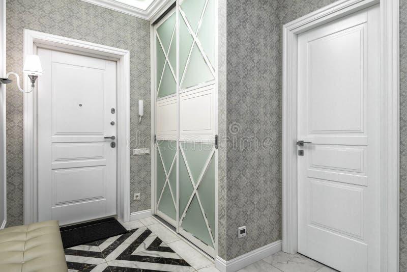 Intérieur moderne d'appartement résidentiel photographie stock