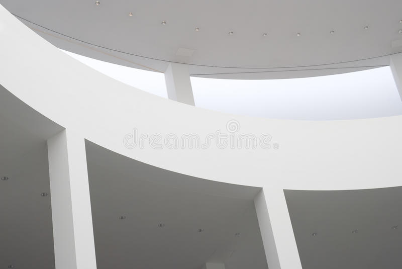 Intérieur moderne d'architecture photo libre de droits